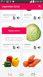 Vegetable Guide - náhled