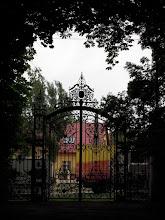Photo: A grófi család ezt a kaput használta