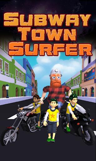 Subway Town Surfer