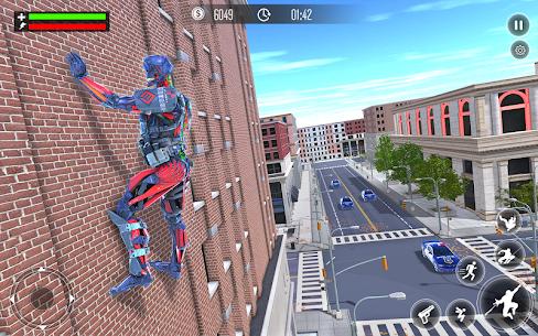 Robot Rope Hero Simulator – Army Robot Crime Game 8