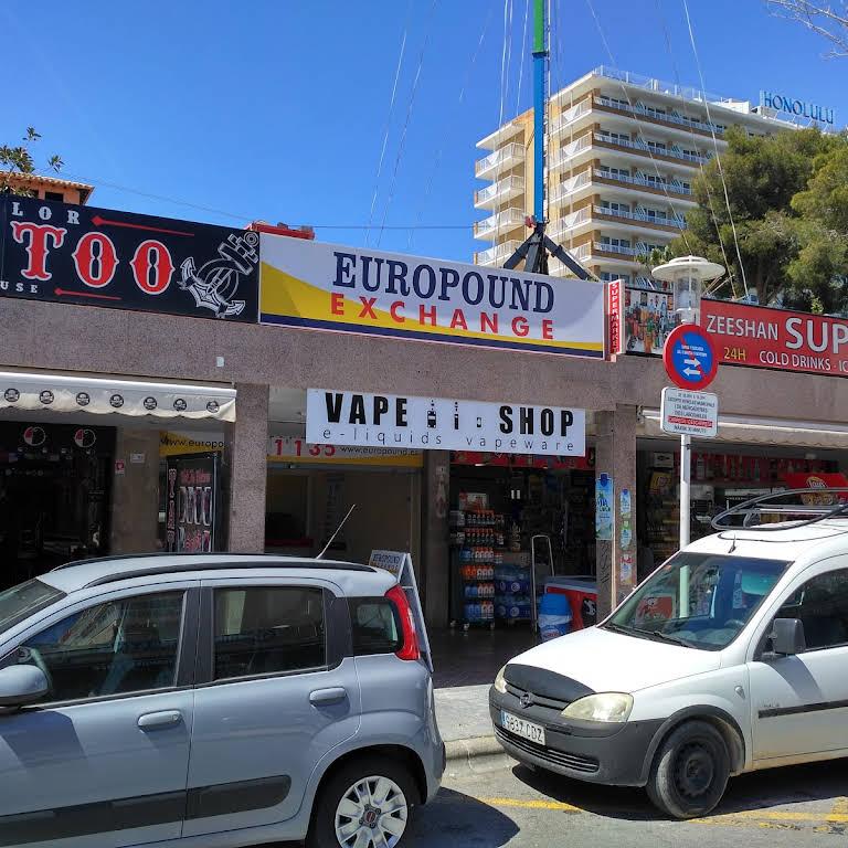 Vape Shop Magaluf - e-liquids & vapeware