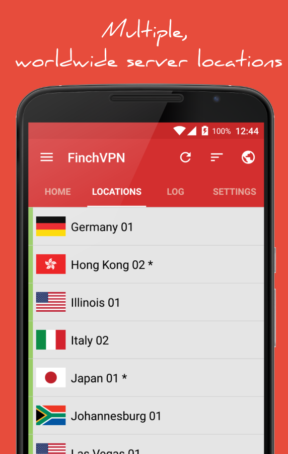 Free & Premium VPN - FinchVPN- screenshot