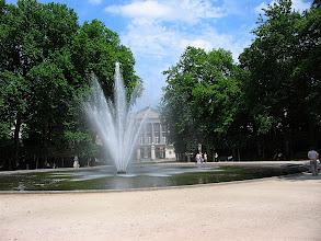 Photo: fountain at royal garden