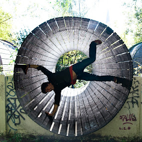 Dadipark by Max Mayorov - City,  Street & Park  Amusement Parks ( ride, dadi, park, amusement, belgium, abandon, entertainment, dadipark, abandoned, circle, pwc79 )