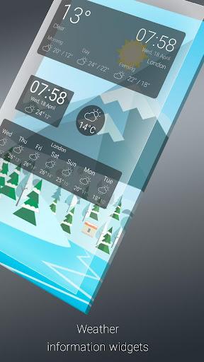 Weather Live Wallpaper. Current forecast on screen screenshot 6