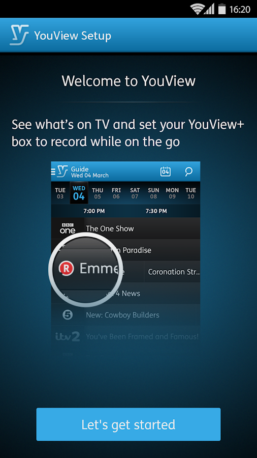 YouView- screenshot