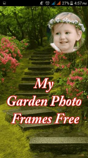 My Garden Photo Frames Free