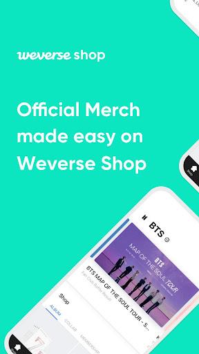 Weverse Shop 1.3.2 screenshots 1