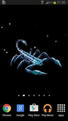 Scorpion Live Wallpaper - screenshot