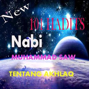 101 HADITS NABI MUHAMMAD SAW TENTANG AKHLAQ MULIA - náhled
