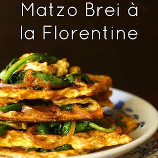Matzo Brei à la Florentine