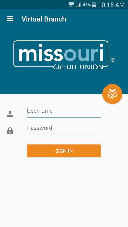 MCU Mobile Banking- screenshot