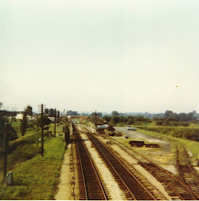 Photo: Charlbury station from the down home signal (summer 1971)