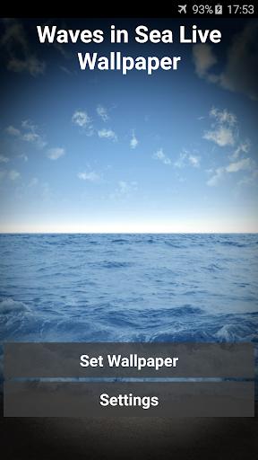Waves in Sea Live Wallpaper
