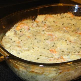 Shrimp & Grits Casserole
