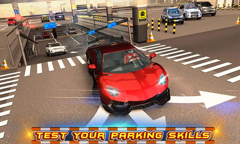 #2. Multi-storey Car Parking 3D (Android)