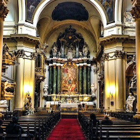 HIGH ALTAR... by Luis Orchevecs Ferenczi - Buildings & Architecture Other Interior