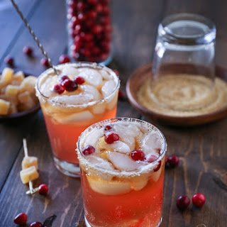 Cranberry Dark and Stormy.