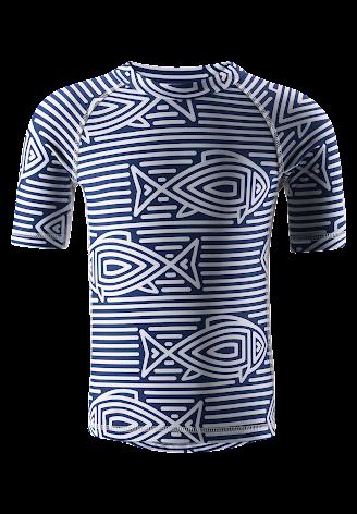 Reima Fiji 581516-6695 Ultramarine Blue uv-trøye