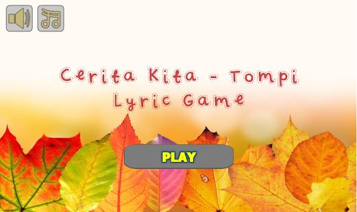 Cinta 99% - Dea Lyric Game - náhled