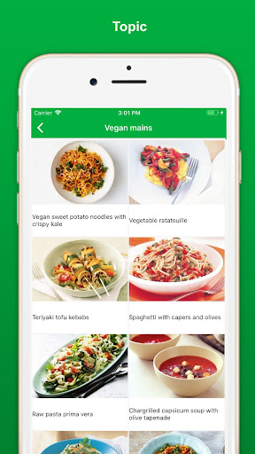Vegan Recipes - Healthy Food screenshot 5