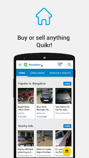 Download Quikr Free Local Classifieds Google Play apps