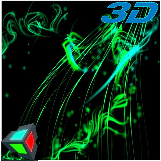 Magic Particles Live Wallpaper