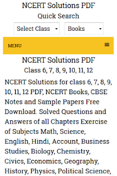 NCERT Solutions PDF - Ncrtsolutions in APK Latest Version