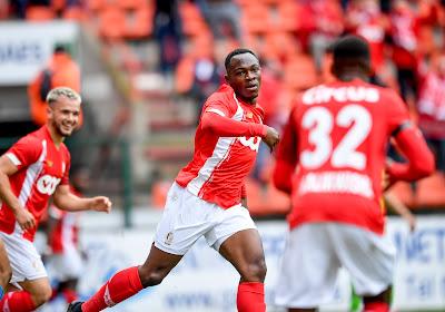Retour de Jackson Muleka, mais beaucoup d'absents: le groupe du Standard pour affronter les Rangers