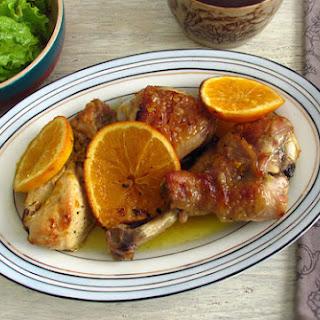 Roasted Chicken With Orange