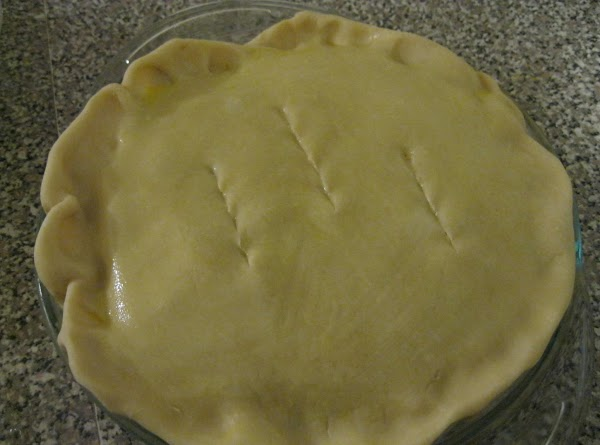 NOTE 2:  I like my pot pies with a bottom crust, so I...