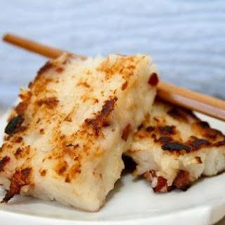Lo Bak Go - Savory Chinese Turnip Cakes