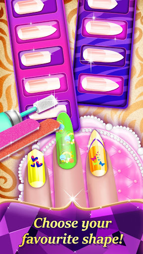 Code Triche Jeu de ongles salon: Manucure pour fille APK MOD screenshots 4
