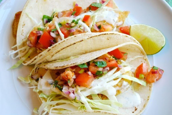 Grilled Fish Tacos Baja Style Recipe