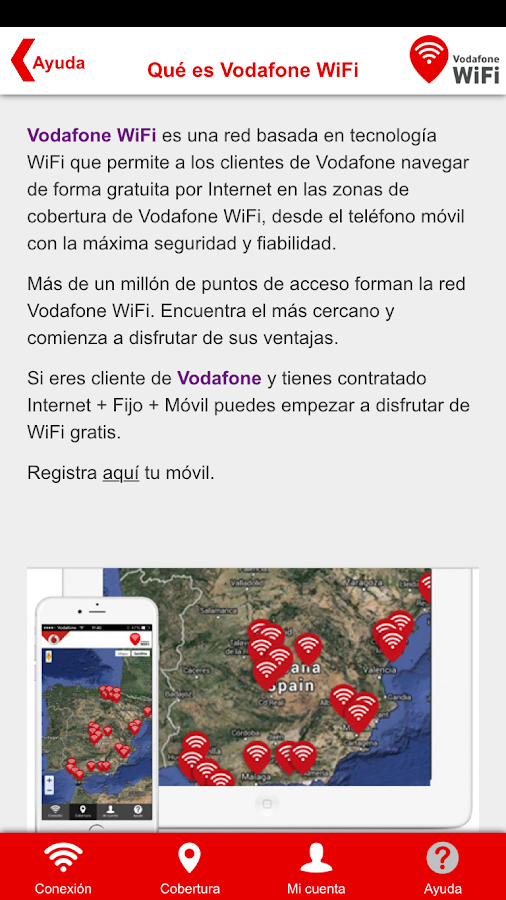 Vodafone WiFi- screenshot