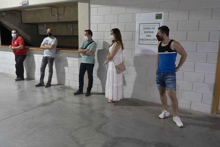 Este miércoles se vacunaba en Almería con cita y sin cita.