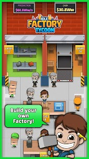 Idle Factory Tycoon - náhled