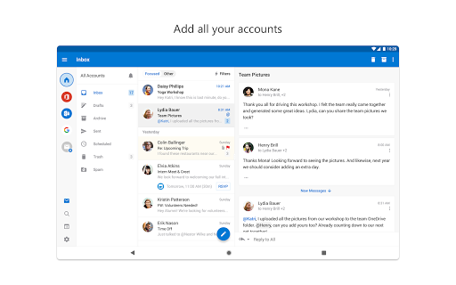 Microsoft Outlook: Organize Your Email & Calendar 4.1.86 screenshots 11
