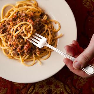 Italian Giblet Bolognese.
