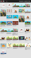 Photo: #Storyboard #ExplainerVideo Armadillo Tracks Design by: http://bossvfx.com