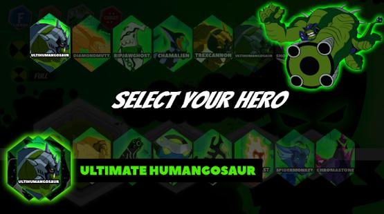 Alien Ultimate Ben - Ultimate Humangosaur Power - náhled