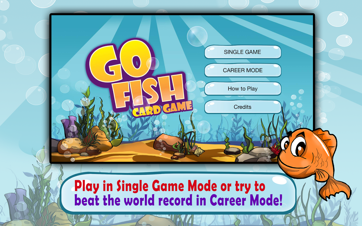 Go Fish: Kids Card Game (free) Screenshot