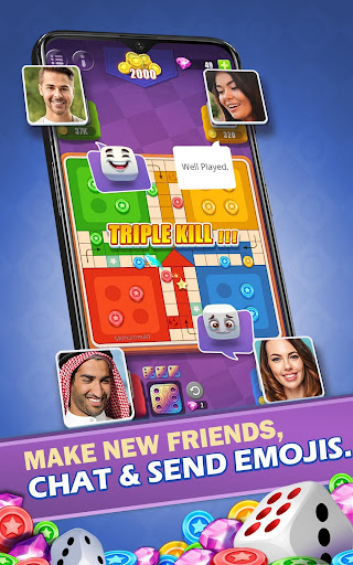 Ludo All Star - Online Fun Dice & Board Game apkpoly screenshots 3