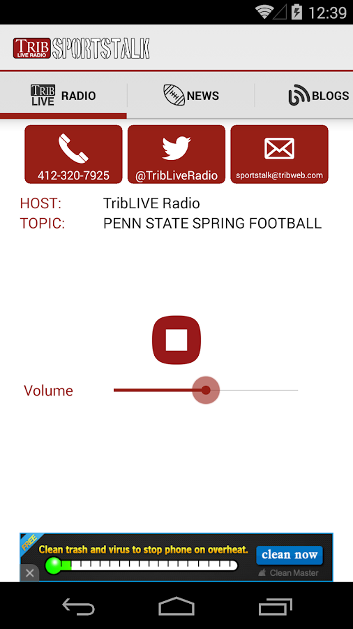 TribLIVE Radio- screenshot