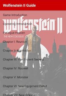 Wolfenstein II Guide - náhled