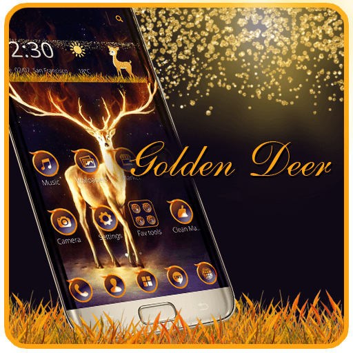 Shiny Golden Deer Launcher