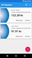 Screenshot of Mit Rejsekort