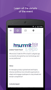 HR Summit & Expo Asia 2017- screenshot thumbnail