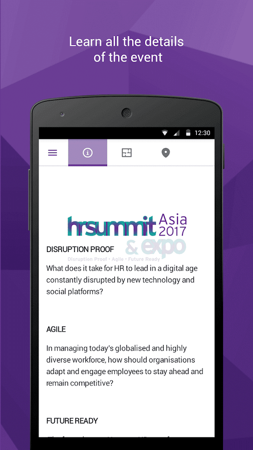 HR Summit & Expo Asia 2017- screenshot