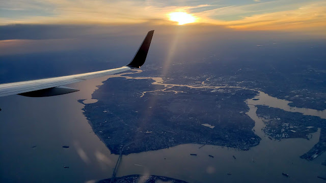 Upper Bay on the approach to JFK